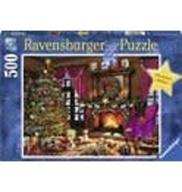 RAVENSBURGER Ravensburger puzzel Witte Kerst - legpuzzel - 500 stukjes