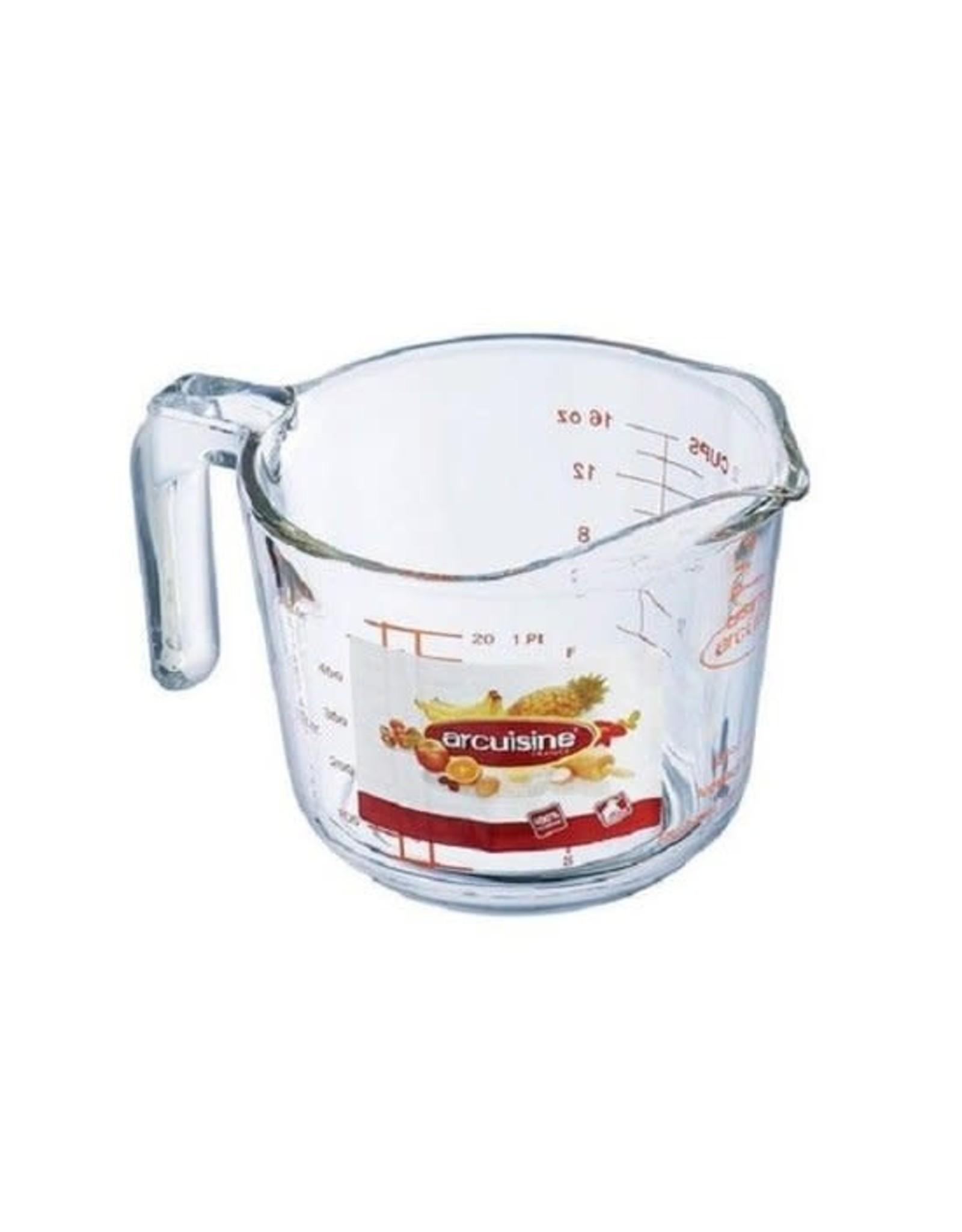 Arcuisine maatbeker glas 0.5L