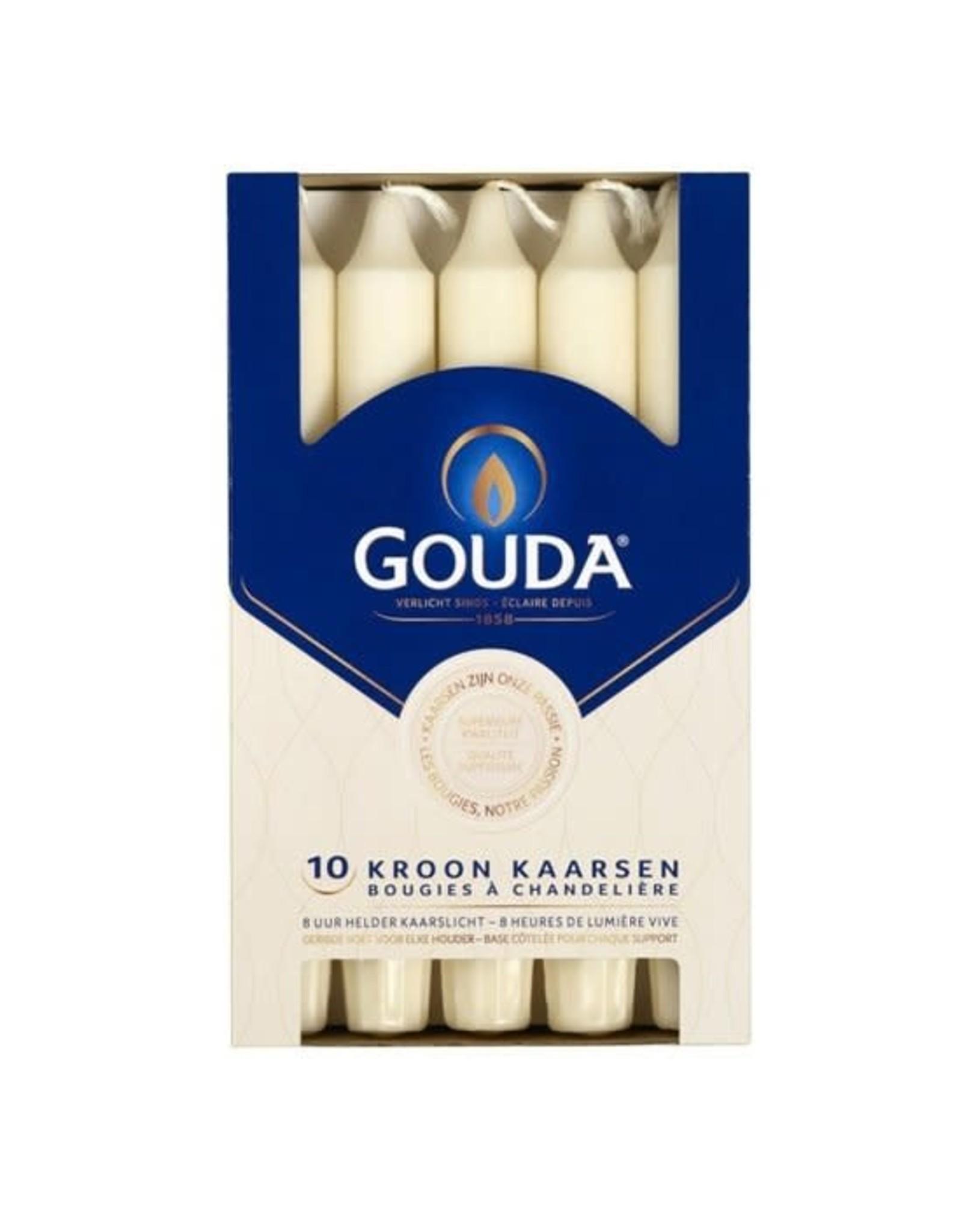 GOUDA D/10 Gouda Kroonkaars ivoor 200/24