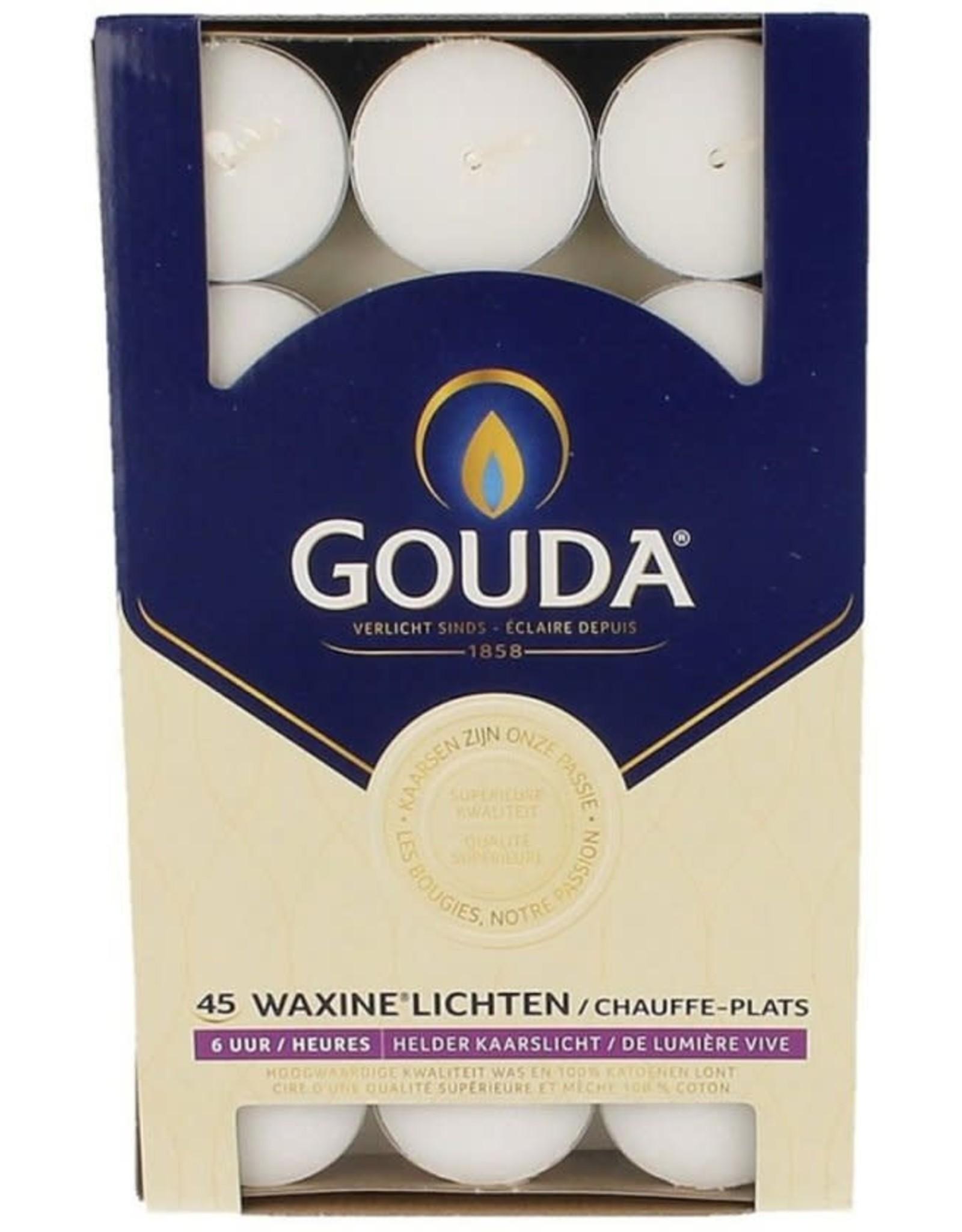 GOUDA WAXINELICHTEN DS 45 ST