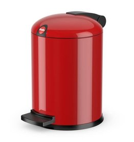 HAILO Afvalbak /pedaalemmer Design maat S 4 L rood Hailo