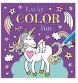 DELTAS Deltas Lucky Color Fun Eenhoorn Kleurboek