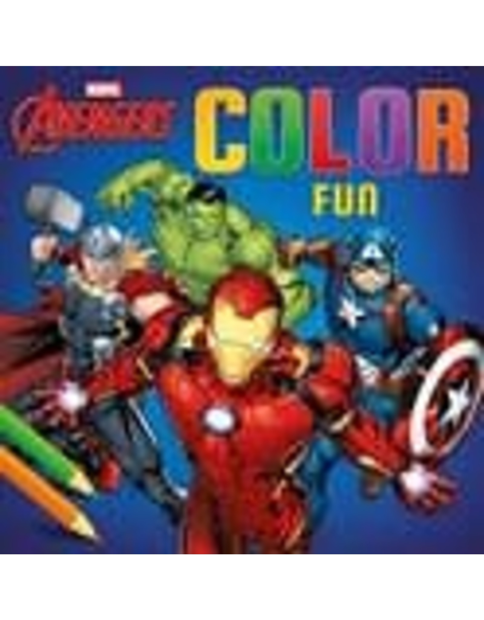 DELTAS Avengers - Kleurboek: color fun