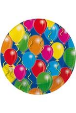 Bord balloons - 8 stuks