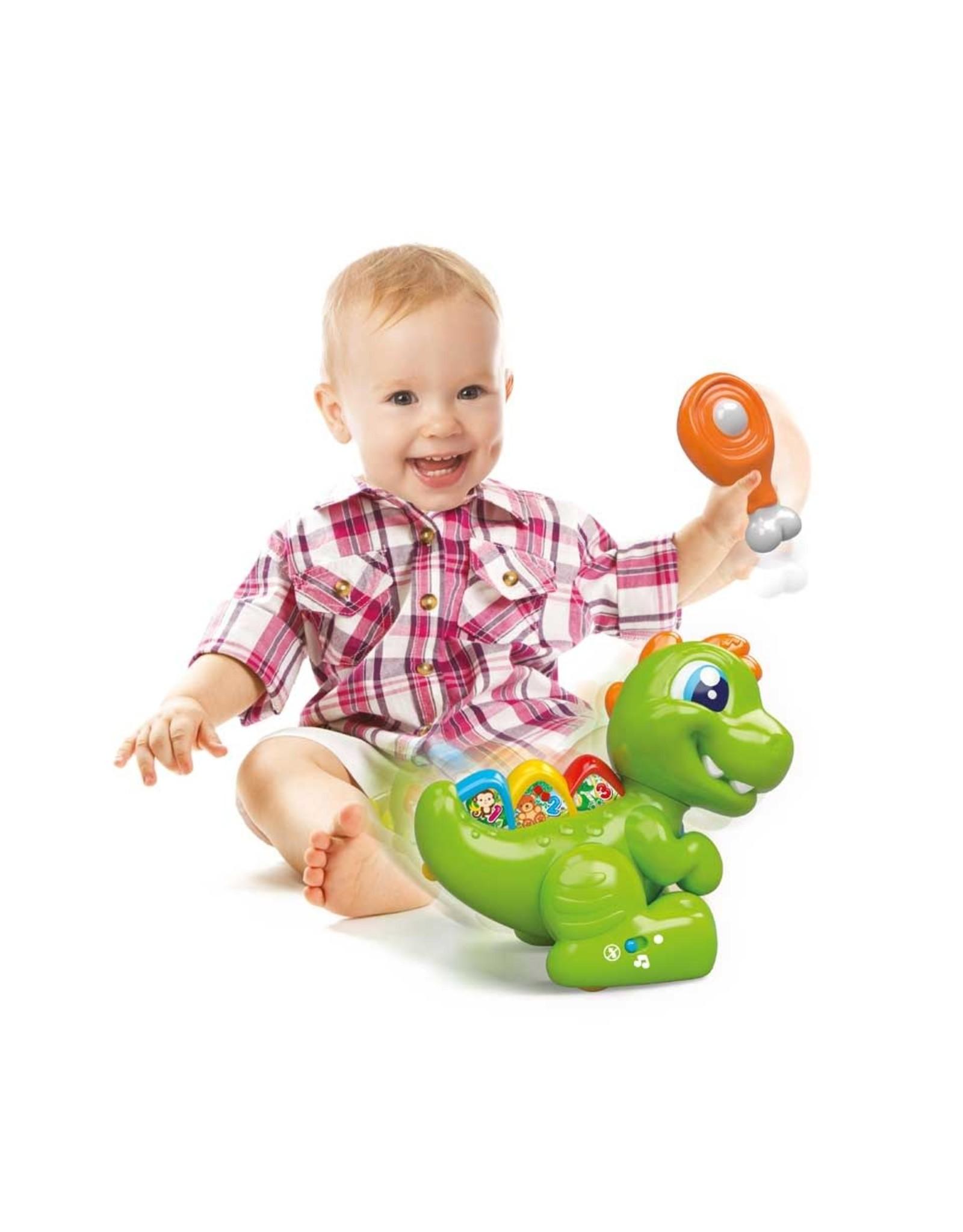 BABY T-REX INTERACTIEVE DINO