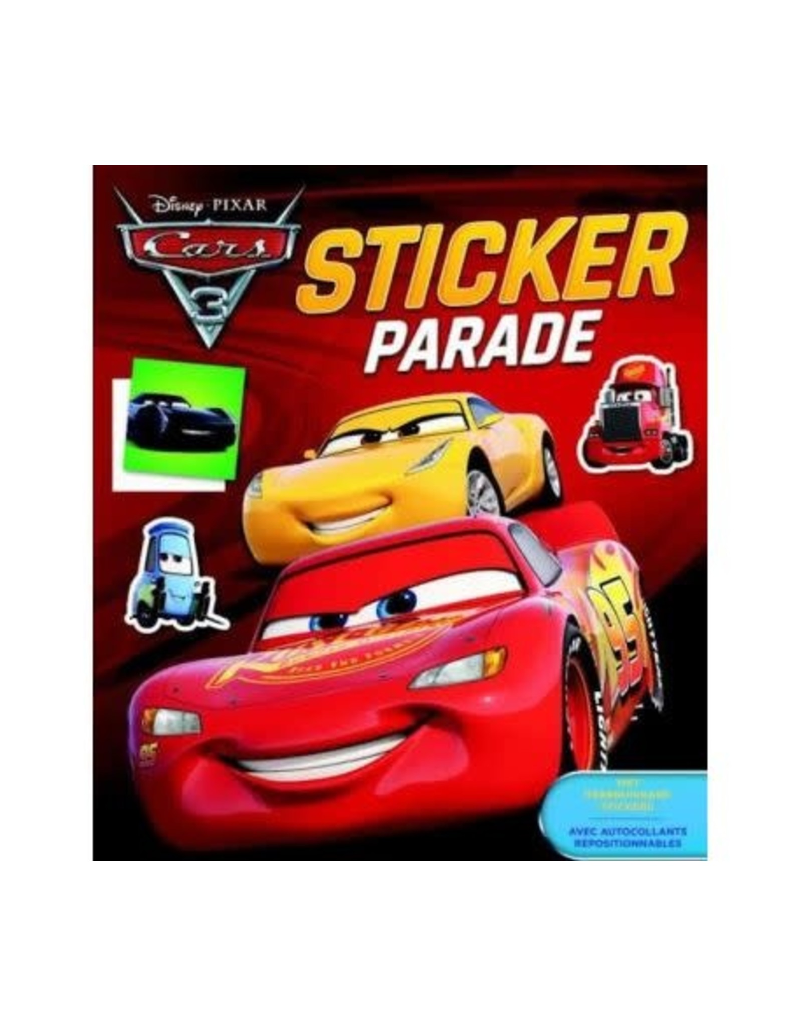 DELTAS Deltas Disney sticker parade Cars 3
