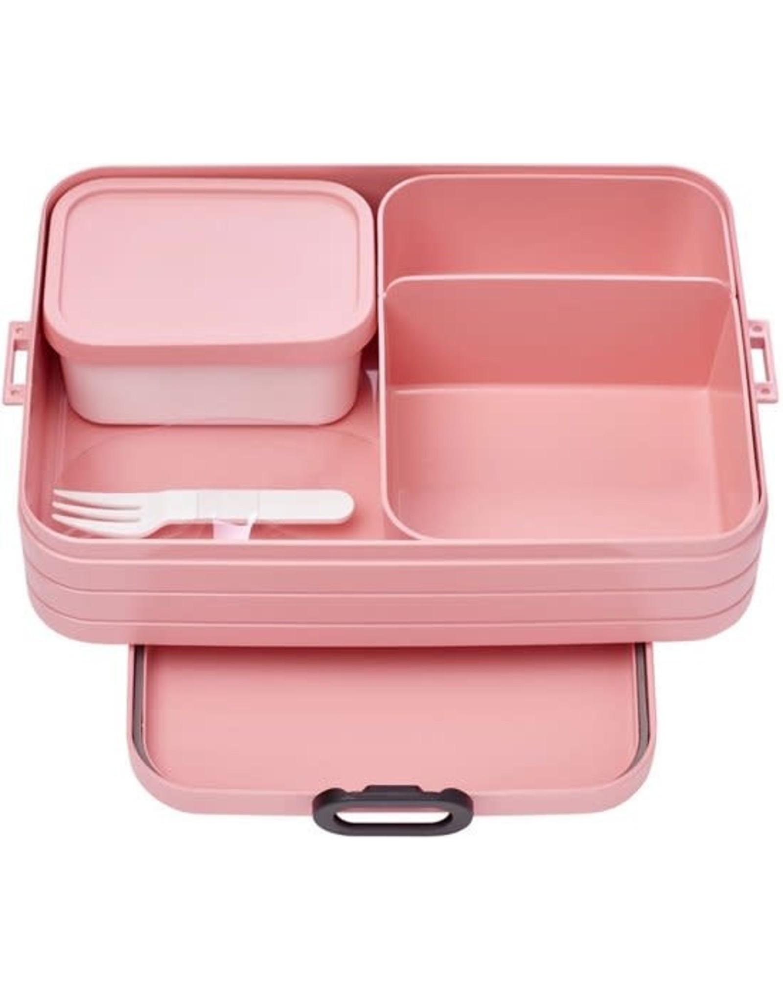 Bento lunchbox Take a Break large - Nordic pink