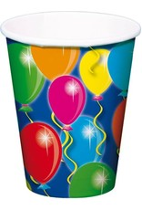 FOLAT Papier Beker ballonnen 8 stuks 20