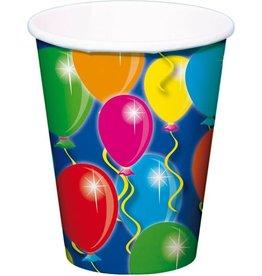 Beker met afbeelding ballonnen