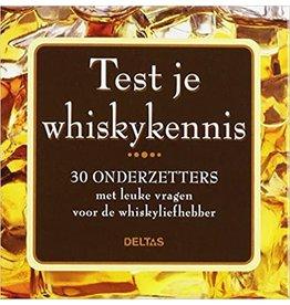 Test je whiskykennis - 30 onderzetters: 30 onderzetters met leuke vragen