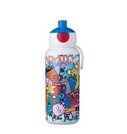 MEPAL drinkfles pop-up graffiti