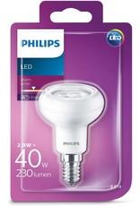 PHILIPS Aanbieding 4 st. Philips LED 40W E14 WW 230V R50 3
