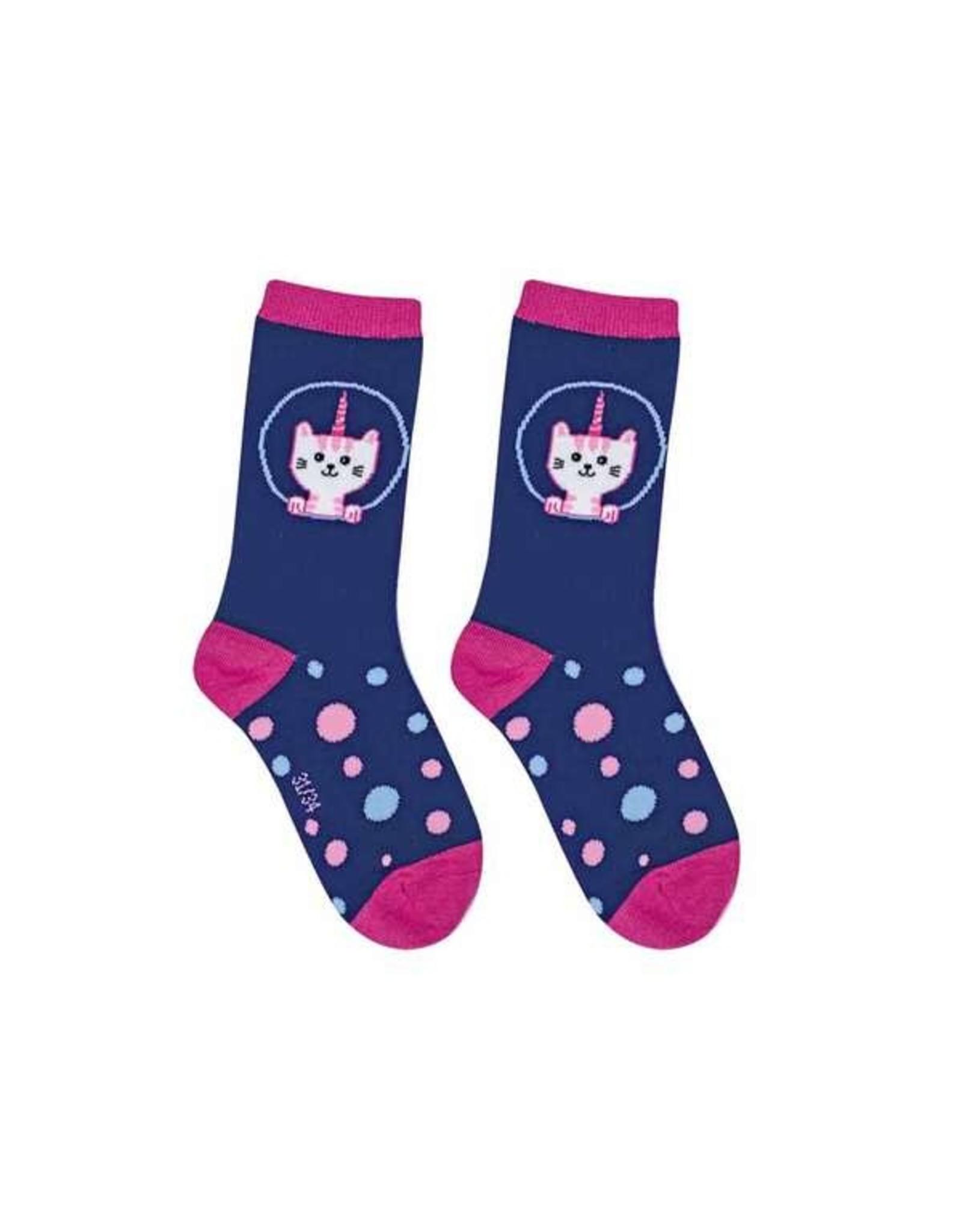 BB Sweety Socks donker blauw 31/34