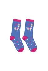 BB Sweety Socks Lama blauw 31/34