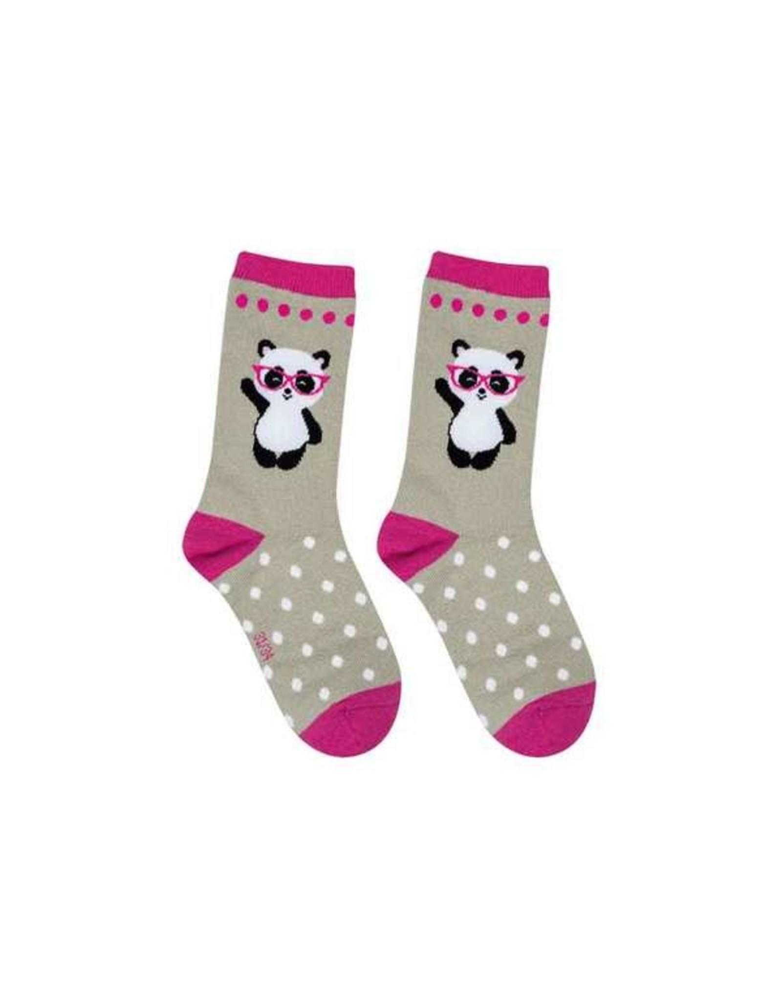 BB Sweety Socks Panda grijs 31/34