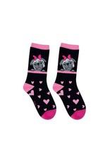 BB BB Sweety Socks Mops zwart 31/34