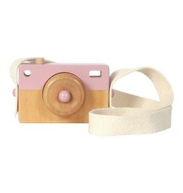 LITTEL DUTCH Little Dutch Camera roze hout
