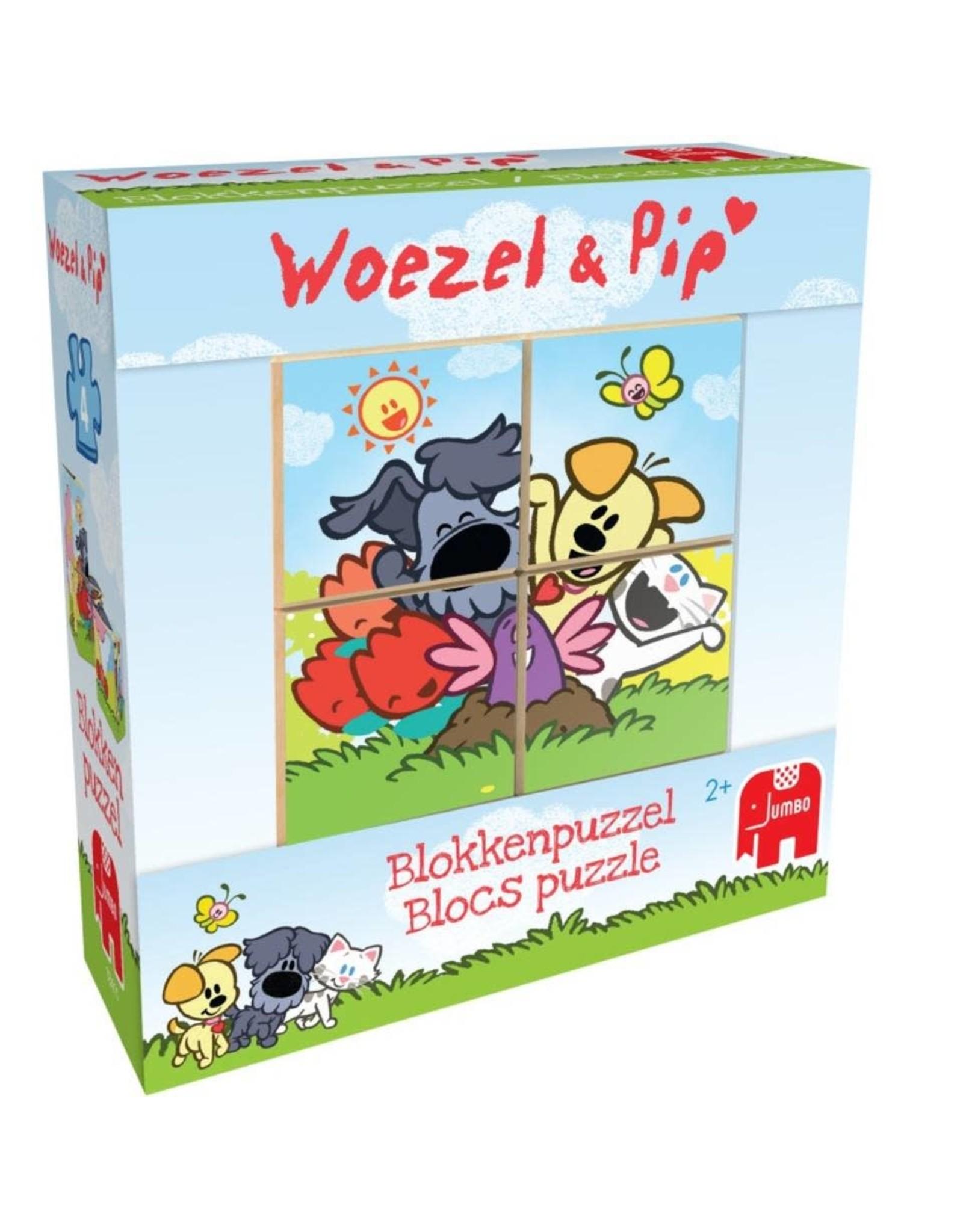 Jumbo kubuspuzzel Woezel & Pip