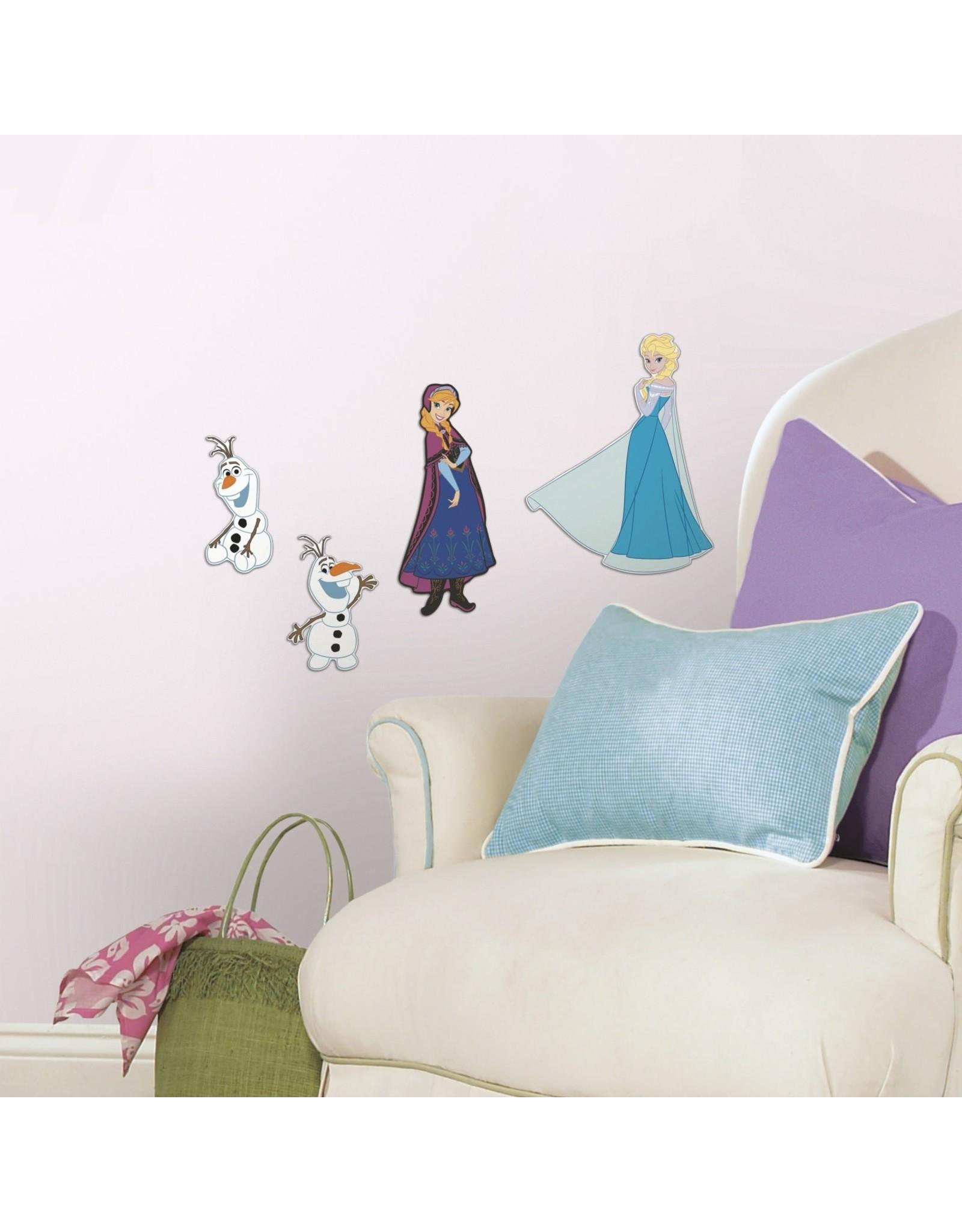 Disney Frozen 3d Foam Stickers - Muursticker