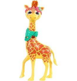 MATTEL Enchantimals Grote Dieren Gillian Giraf - Speelfig