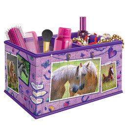 RAVENSBURGER Ravensburger Girly Girl 3D puzzel opbergdoos paard