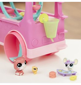 Hasbro Littlest Pet Shop foodtruck speelnset
