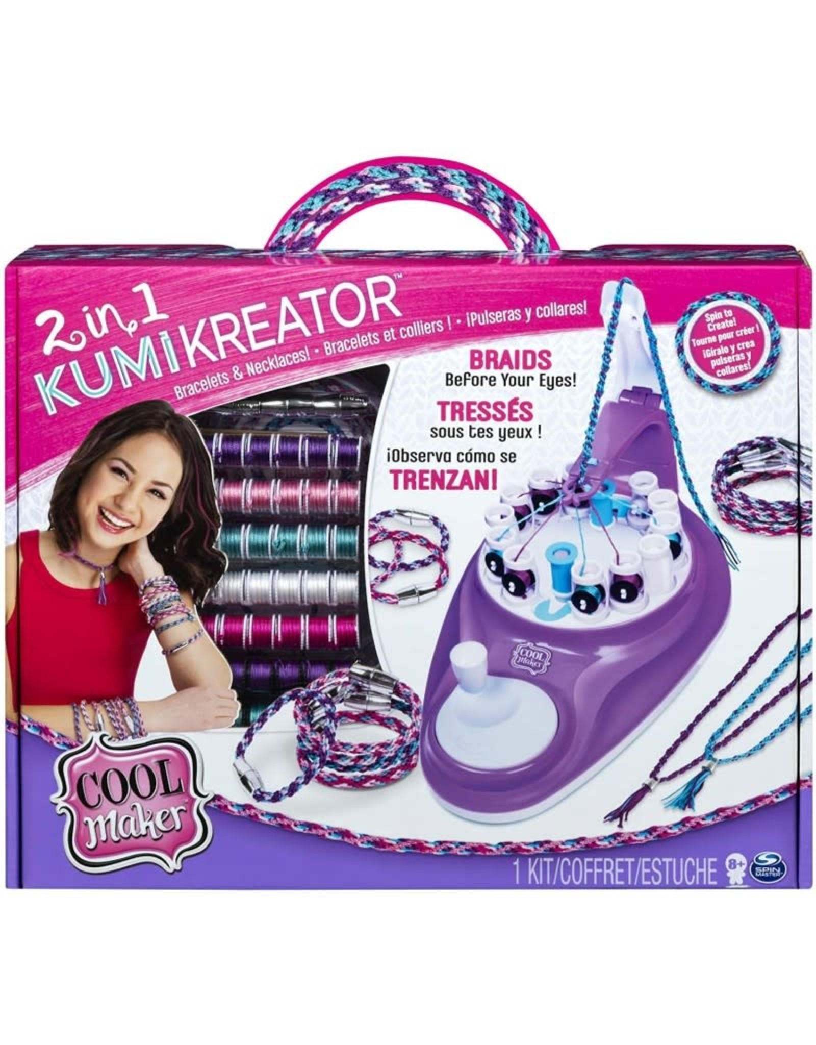 SPIN MASTER Cool Maker Kumi Kreator Studio 2 In 1