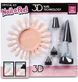 Nail-a-Peel Starter Kit- Crystal Kit