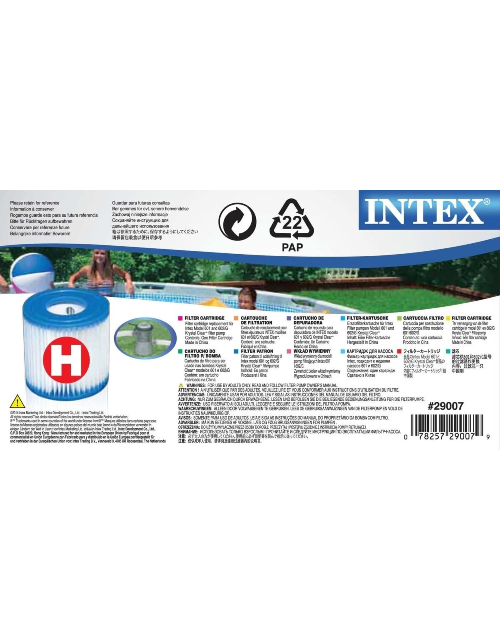 INTEX INTEX FILTER TYPE H