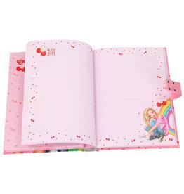 TOPMODEL Topmodel dagboek met geheime code cherry bomb