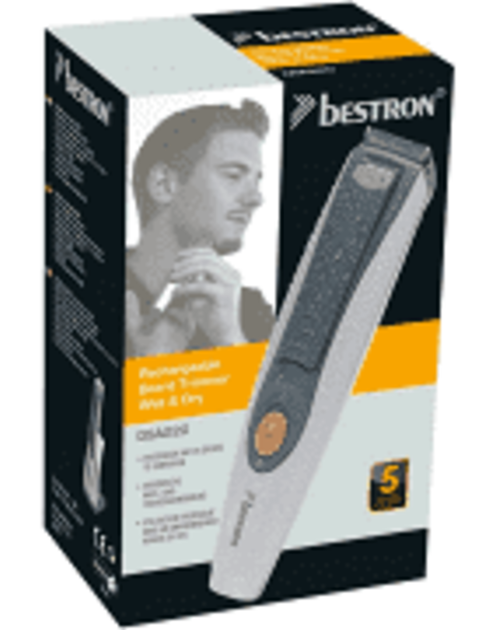 BESTRON BESTRON DSA220 - Oplaadbare baard trimmer wet&dry