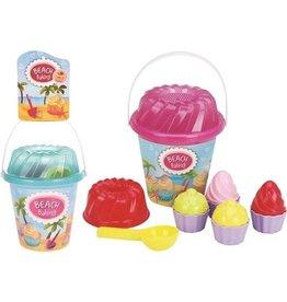 Strandspeelgoed Bakset Cupcake