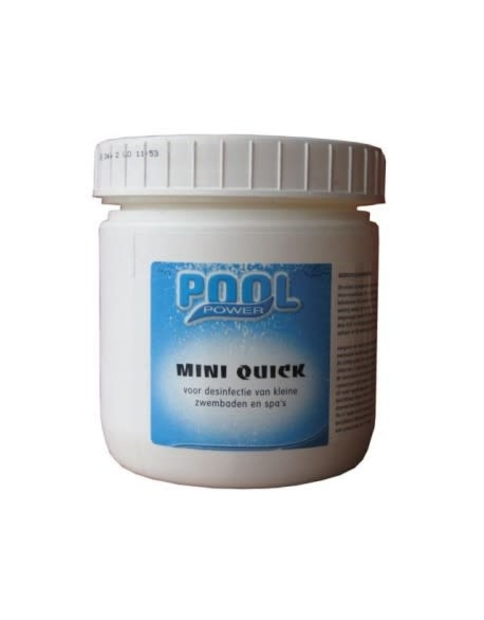 INTERLINE Chloortabletten Pool Power 180 mini tabletten Quick - Snel oplosbaar