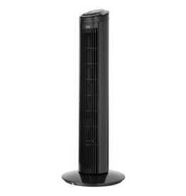 TESSA Toren ventilator  zwart Teesa TSA8032 - 50W, 74 cm