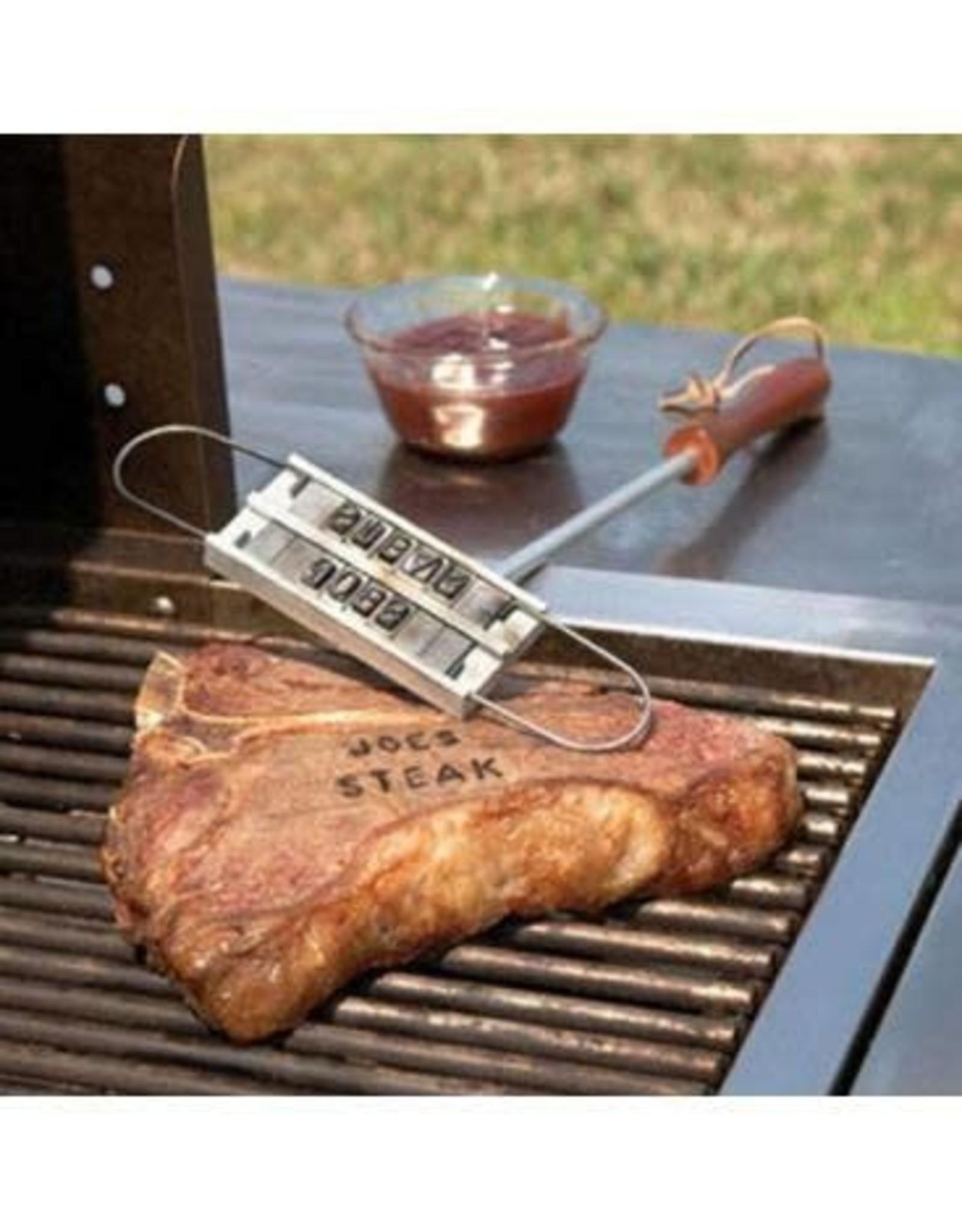 COSY & TRENDY Cosy & Trendy Grill Steak Set Brandijzer - 40 cm