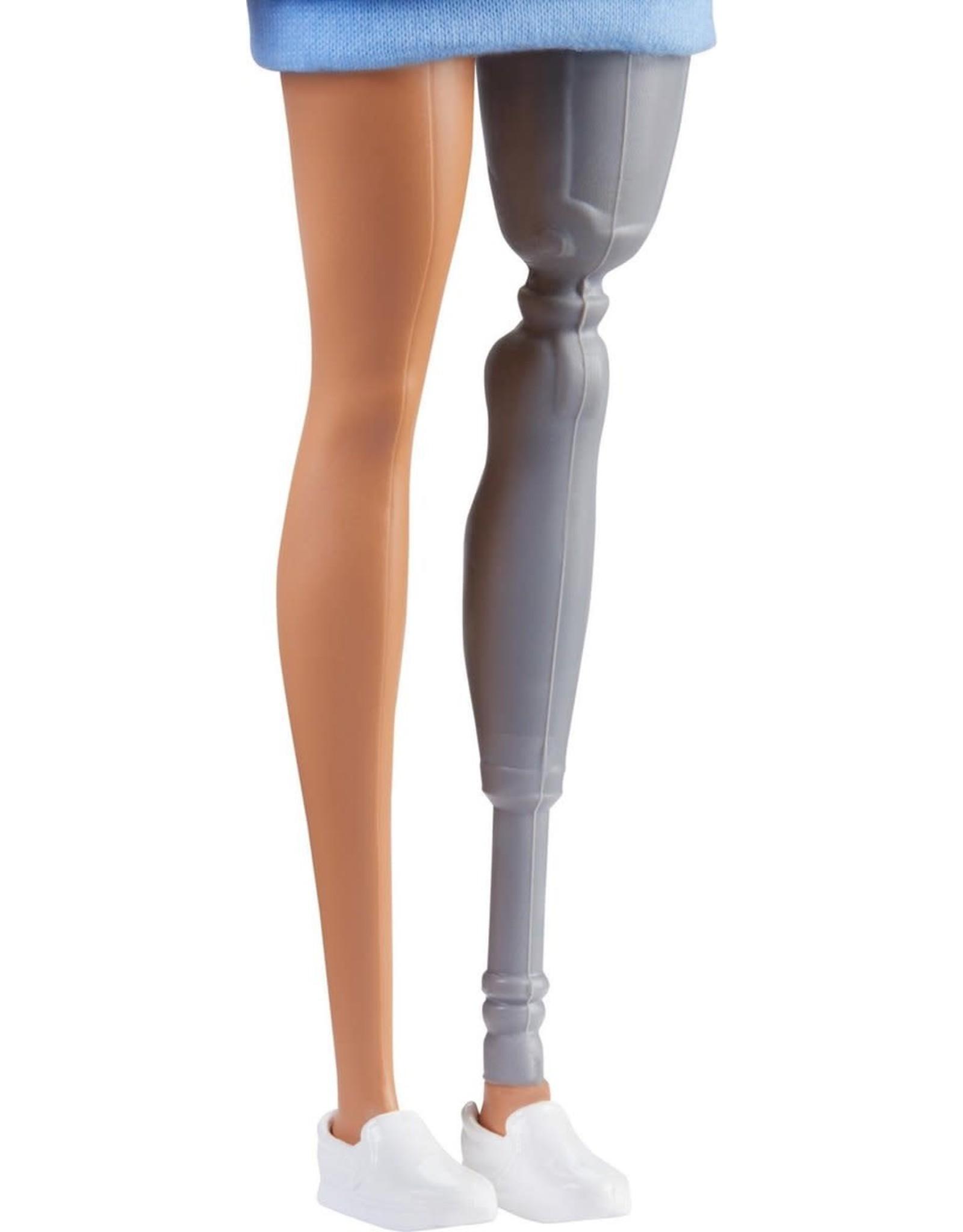 Barbie Fashionistas Met Beenprothese 121