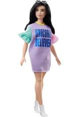 MATEL Barbie Fashionistas Curvy Met Lang Bruin Haar 127