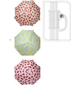 Strandparasol - Parasol - 170 cm - 3 kleuren en ontwerpen