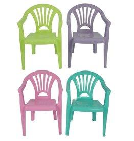 MERKLOOS Kinderstoel plastic 4 kleuren