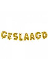 BOLAND Boland ballonslinger 4 meter folie goud