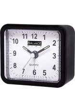 BALANCE Balance Alarm Clock Analogue Black