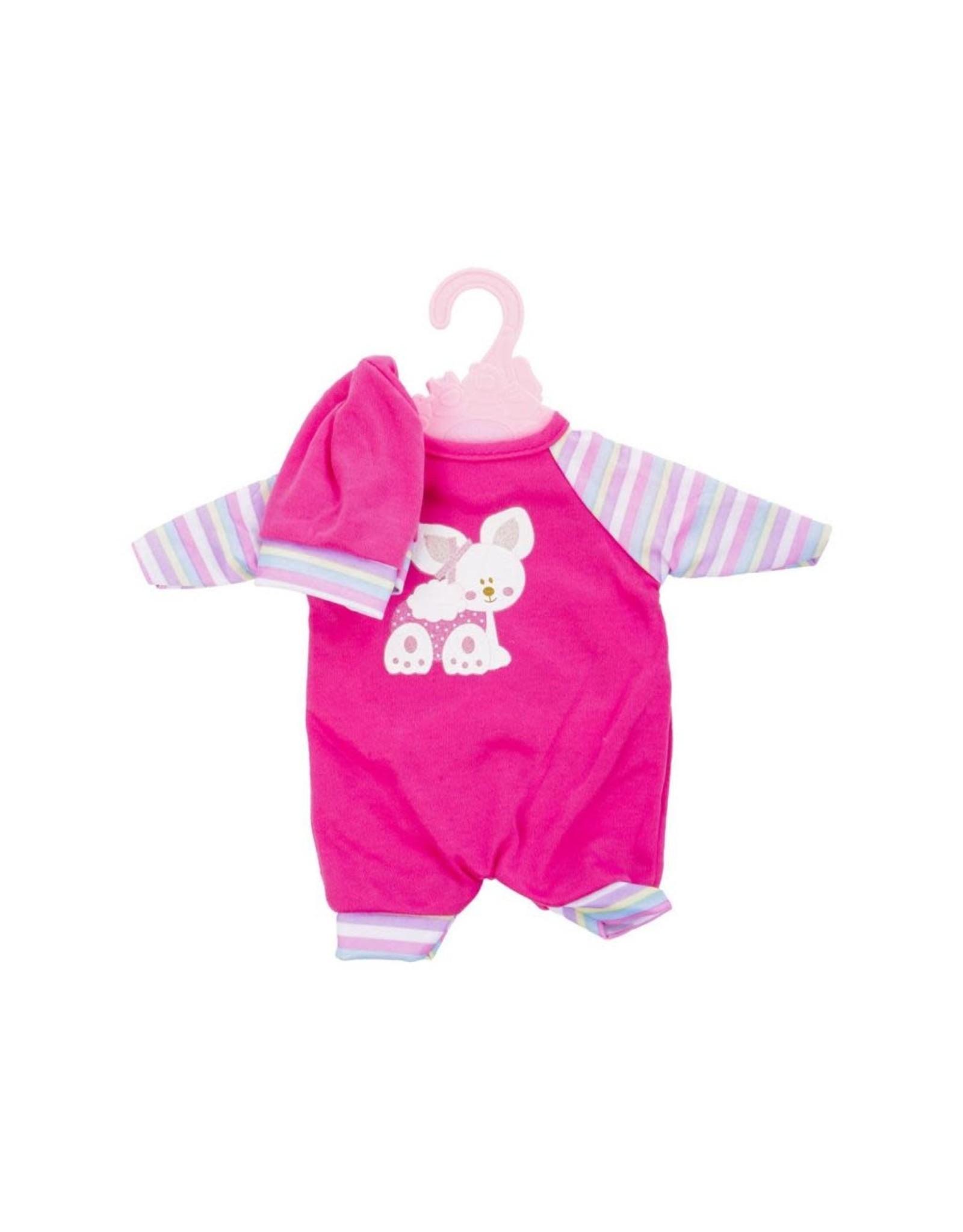 Baby Rose poppenkleding op hanger 40-45cm pop