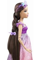 Barbie prinses met lang haar (brunette)