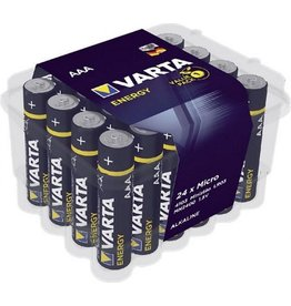 VARTA Batterij Varta Alkaline, AAA, 24 pack Single-use battery