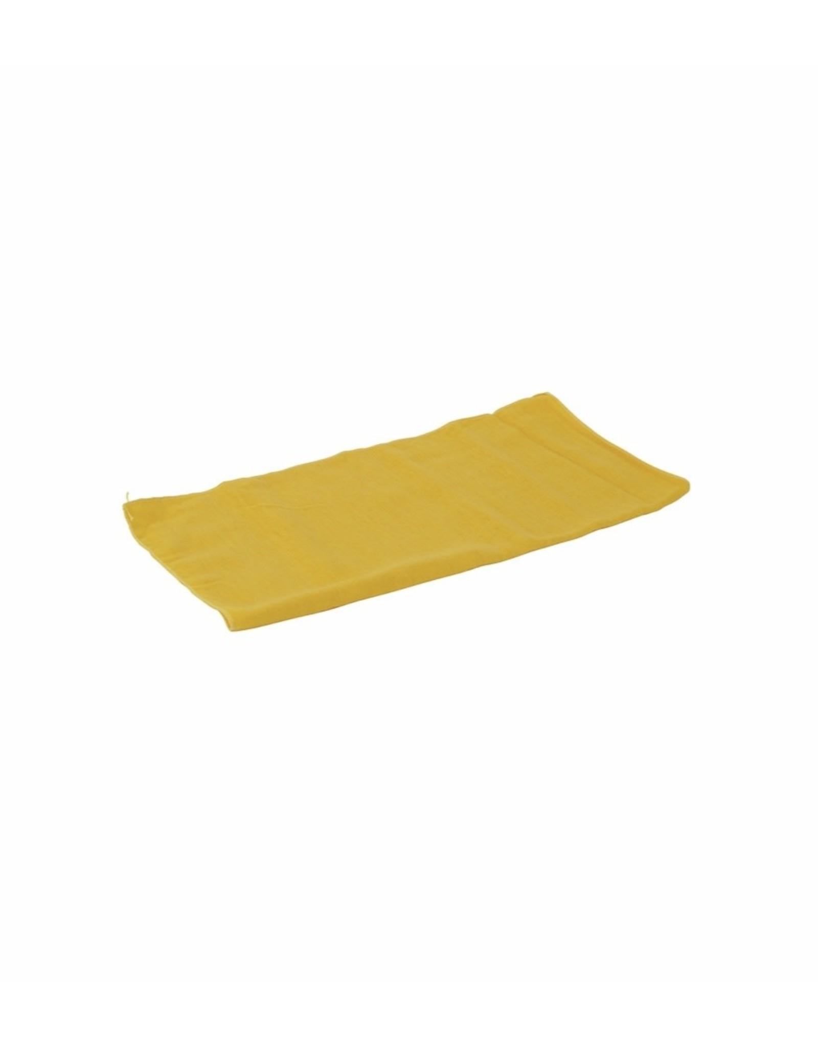 Betra stofdoek katoen geel 40 x 40 cm