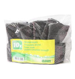 VILEDA Staalwol met zeep / Zeepsponsjes ( 10 stuks )