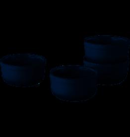 BERGHOFF Ramekin set van 4 Laag , 9 cm - Zwart - BergHOFF | Gem