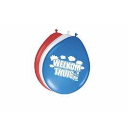 FOLAT Ballonnen Welkom thuis 8 stuks