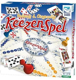 CLOWN GAMES Keezenspel - Bordspel