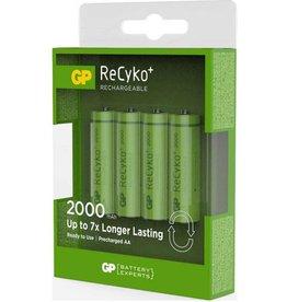 GP LITHIUM Batterij GP ReCyko Rechargeable AA batterijen (2100mAh) - 4 stuks